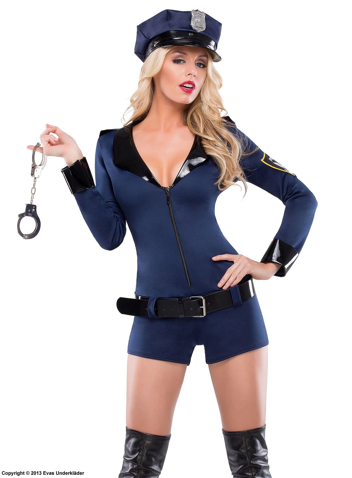 polis dräkt dam